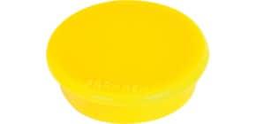 Magnet D24mm gelb FRANKEN HM20 04 10 Stück Produktbild