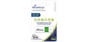 USB Stick 32GB grün MEDIARANGE MR973 2.0 Produktbild