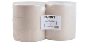 Toilettenpapier Jumbo 6RL recyclingweiß AG-039 25cm 2lag Produktbild
