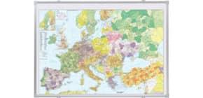 Kartentafel Europa FRANKEN KA650P pinnbar Produktbild