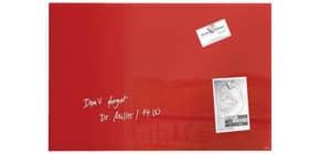 Magnettafel Glas rot SIGEL GL122 60x40cm Produktbild