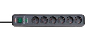 Stromschutzleiste 6-Fach sw-  Produktbild