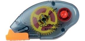 Kleberoller permanent Einweg tr.blau Q-CONNECT KF10946 6,5mmx8,5m Produktbild