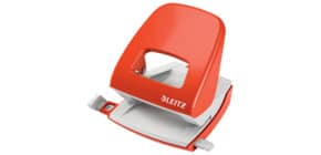 Locher NeXXt Metall hellrot LEITZ 5008-00-20 30 Blatt Produktbild