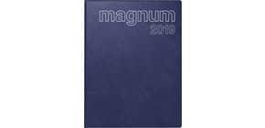 Buchkalender 1W 2S d.blau 18,3x24cm RIDO 702704238 Produktbild