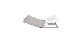 Ordner S80 8cm rot FALKEN 9984071 PP-Color Produktbild