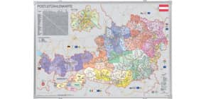Kartentafel Postleitzahlen FRANKEN KA447PA pinbar Produktbild
