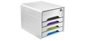 Schubladenbox Smoove 7-311S weiß/farbig CEP 1073110921 Secure m.Schloss Produktbild