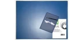 Schreibunterlage 63x50cm blau Q-CONNECT KF26797 PP Produktbild