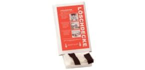 Löschdecke 100x100cm Glasgewebe LEINA-WERKE 41060 Produktbild