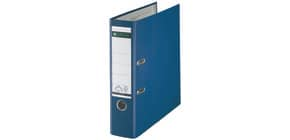 Ordner Plastik A4 8cm blau LEITZ 1010-50-35 180° Produktbild