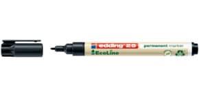 Permanentmarker e25 1mm schwarz EDDING 4-25001 EcoLine Rundspitze nachf. Produktbild