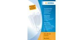 Ausweissteckhülle 63x90mm transparent HERMA 5010 Produktbild