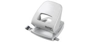 Locher NeXXt Style arktik weiß LEITZ 5006-00-04 mit Anlegeschiene Produktbild