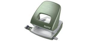 Locher NeXXt Style seladon grün LEITZ 5006-00-53 mit Anlegeschiene Produktbild