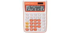 Tischrechner weiß/orange REBELL RE-SDC912OR BX Produktbild