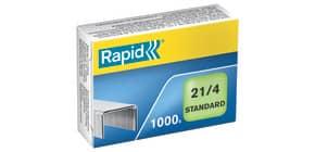 Heftklammer 21/4 verzinkt RAPID 24867600 1000St Produktbild