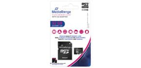 Speicherkarte MicroSDHC 32GB MEDIA RANGE MR959 Class10 Produktbild