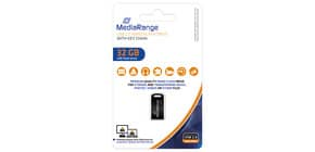 USB Stick mini 32GB MEDIA RANGE MR922 2.0 Produktbild