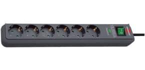 Verteilersteckdose 6-fach schwarz BRENNENSTUHL 1159710 Schutzschalter Produktbild