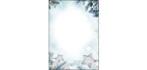 Weihn.Design Papier 25BL Snow Star SIGEL DP312  90g A4 Produktbild