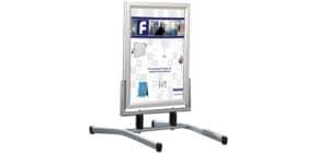 Plakatständer Swingmaster silb FRANKEN BS1308 Produktbild