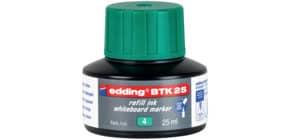 Nachfülltusche 25ml grün EDDING BTK25004 Produktbild