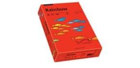 Kopierpapier A4 80g intensivrot RAINBOW 88042475 500 Blatt Produktbild