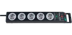 Verteilersteckdose 5-fach schwarz BRENNENSTUHL 1153380315 SuperSolid Produktbild