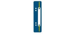 Heftstreifen PP 34x150mm 25ST dkl.blau Q-CONNECT 2012500410 Plastikdeckleiste Produktbild