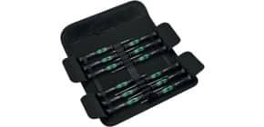 Elektronikdreher-Satz 12tlg. schw./grün WERA 05073675001/0516569 Produktbild