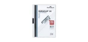 Klemmmappe Duraclip A4 weiß DURABLE 2200 02 30BL Produktbild