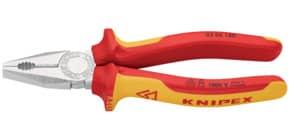 Kombizange 18cm rot/gelb KNIPEX 0306180/0302192 Produktbild