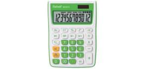Tischrechner weiß/grün REBELL RE-SDC912GR BX Produktbild