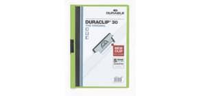 Klemmmappe Duraclip A4 grün DURABLE 2200 05 30BL Produktbild