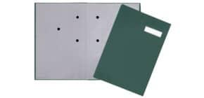 Unterschriftsmappe grün Q-CONNECT KF31013 4405103 Produktbild