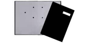 Unterschriftsmappe schwarz. Q-CONNECT KF31014 24192-44 Produktbild