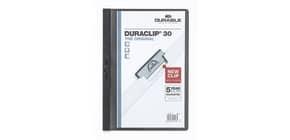 Klemmmappe Duraclip A4 schwarz DURABLE 2200 01 30BL Produktbild