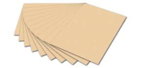 Tonpapier A4 chamois FOLIA 6410 130g Produktbild