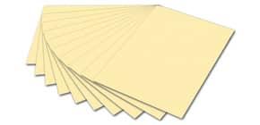 Tonpapier A4 strohgelb FOLIA 6411 130g Produktbild