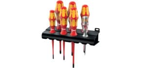 Schraubendreher-Set 7tlg. rot/gelb WERA 05006480001/0516071 Produktbild