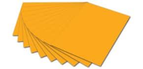 Tonpapier A4 dunkelgelb FOLIA 6416 130g Produktbild