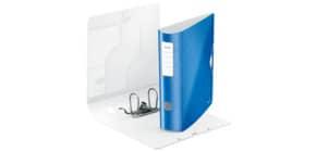 Ordner A4 8cm Active blau met. LEITZ 1106-00-36 Wow PP Produktbild