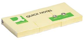 Haftnotizblock 38x51mm gelb Q-CONNECT KF10500 100 Blatt Produktbild
