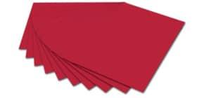 Tonpapier A4 ziegelrot FOLIA 6418 130g Produktbild