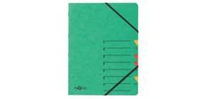 Ordnungsmappe grün 7-teilig PAGNA 24061-03 7 Gummizug Produktbild