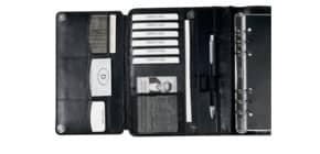 Zeitplaner A5 Leder schwarz BIND T 300-1 RV ohne Kalendarium Produktbild