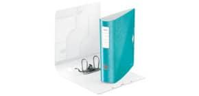 Ordner A4 8cm Active eisblau met LEITZ 1106-00-51 Wow PP Produktbild
