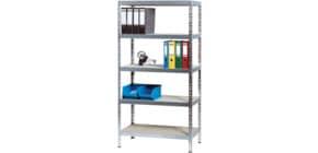 Regal 92x46x180cm 5 Böden ALCO 410 z.Stecken Stahlblech Produktbild