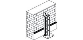 Verdübelungsset Clip/Fix META 72432 Wand Produktbild